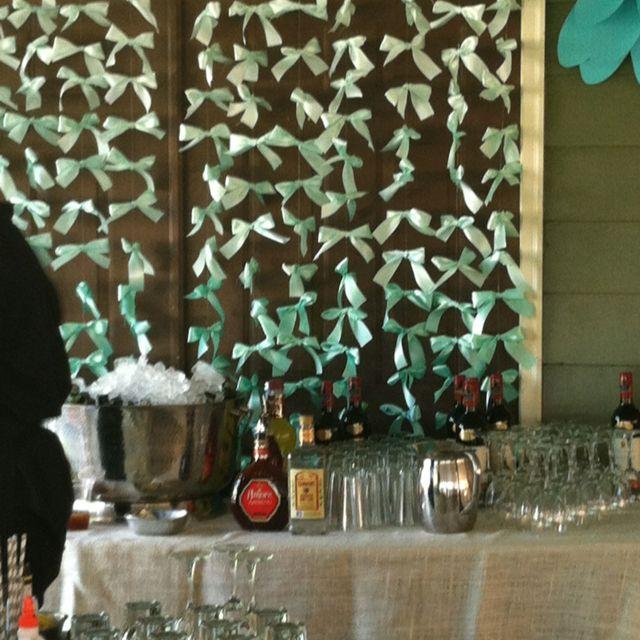 April Foster Events Alice in wonderland bar backdrop