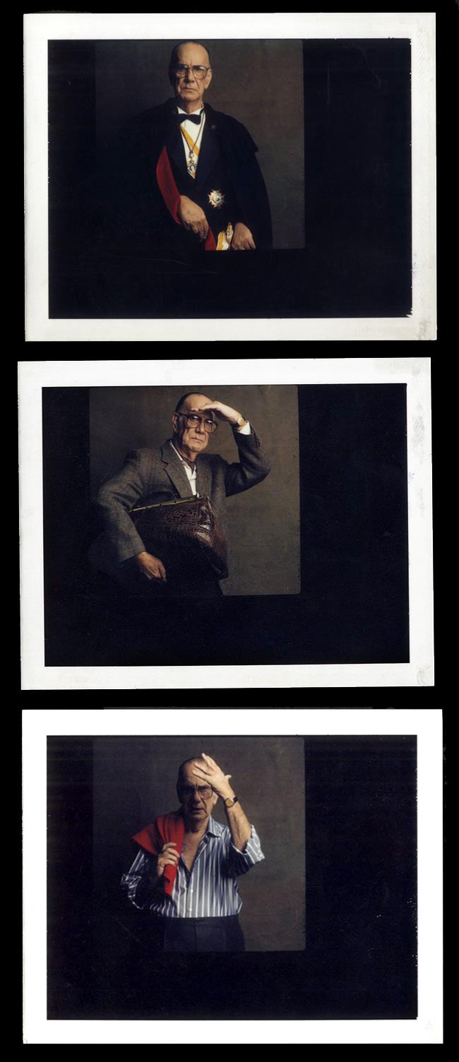 La fotografía de Alberto Schommer en una caja de cartón