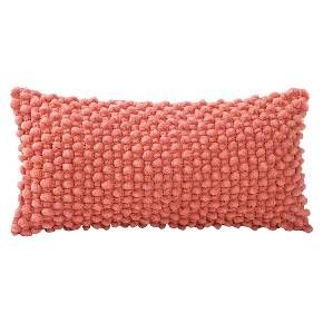 Coral throw pillows, Coral