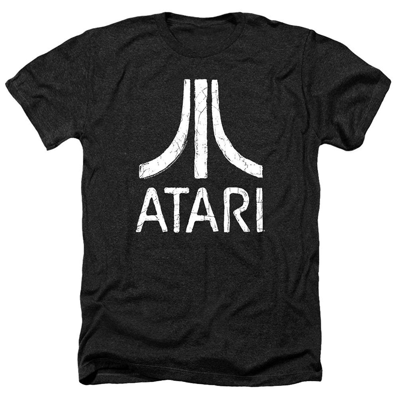 Atari Video Game Retro Logo Vintage Gaming Console T Shirt