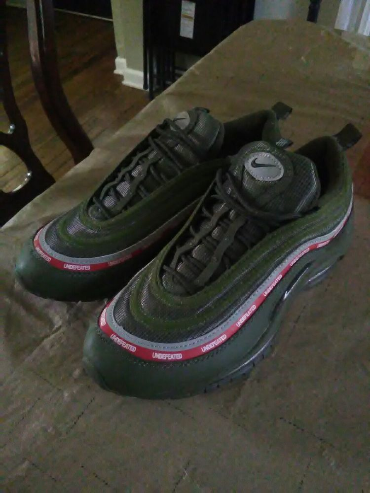 Undefeated air max 97 #fashion #clothing #shoes #accessories