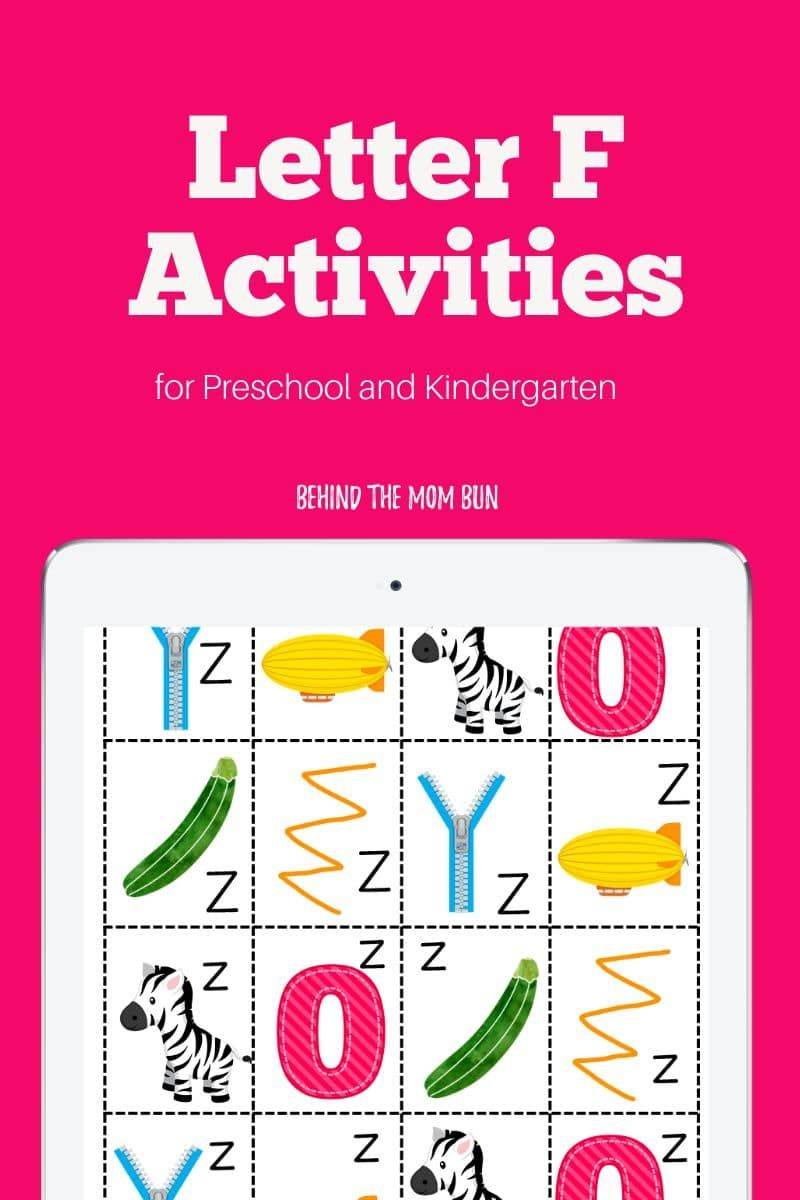 Trace The Alphabet And Get Ready To Learn The Letter F With These Free Letter F Worksheets From Behind The Mom Bun Lettering Letter F Kindergarten Worksheets [ 1200 x 800 Pixel ]
