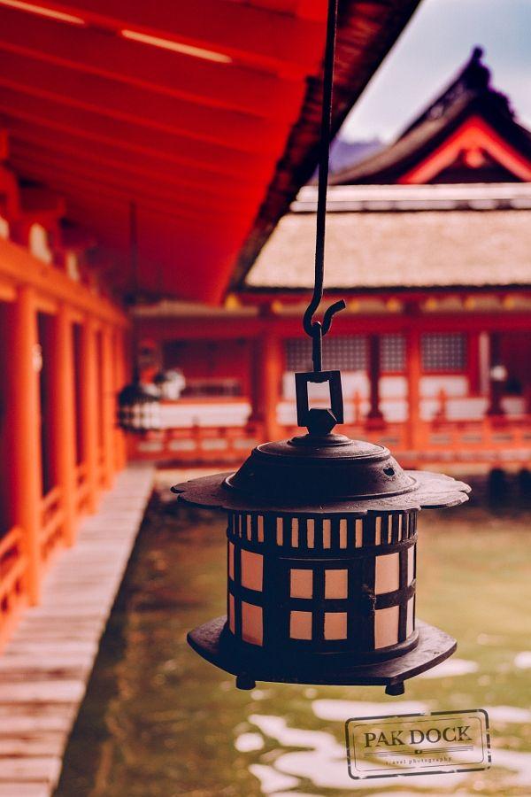 More lamps - Itsukushima