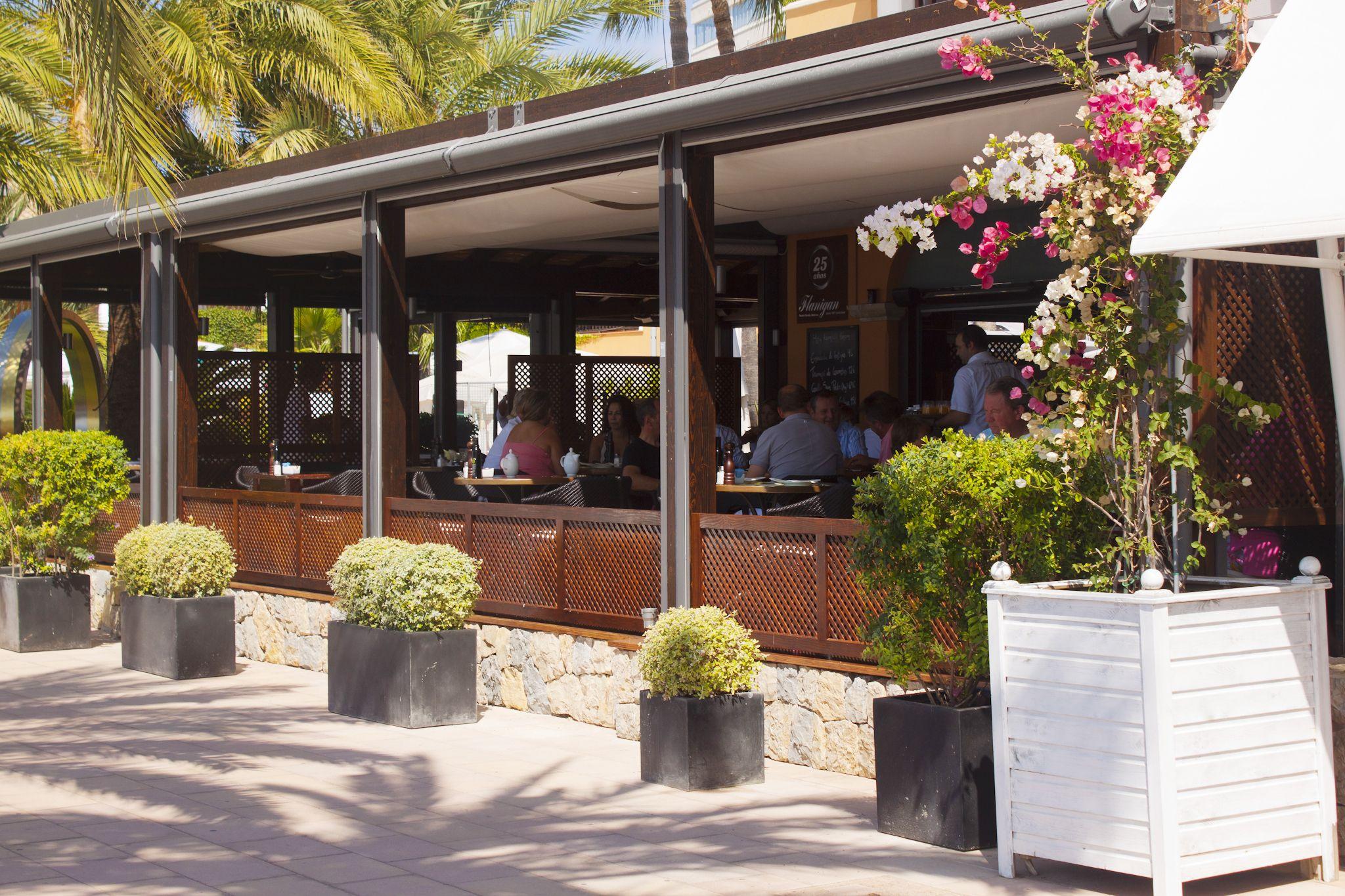 Restaurant in Puerto Portals Mallorca Mallorca, Pergola