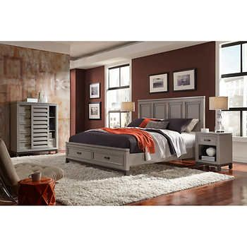 Norah 4-piece King Bedroom Set | 18 intrepid | Pinterest
