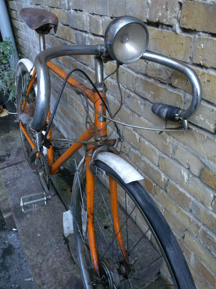 Rare 1948 Raleigh Super Sports Bicycle - Reynolds 531 frame