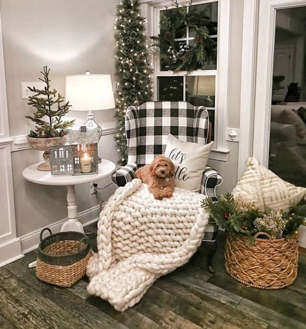How To Apply Winter Home Decoration Ideas Winter Home Decor Farmhouse Christmas Decor Home Decor
