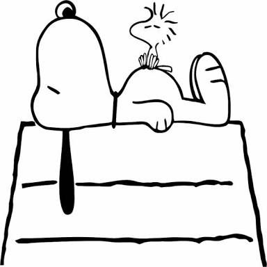 snoopy and woodstock images black and white - Google Search