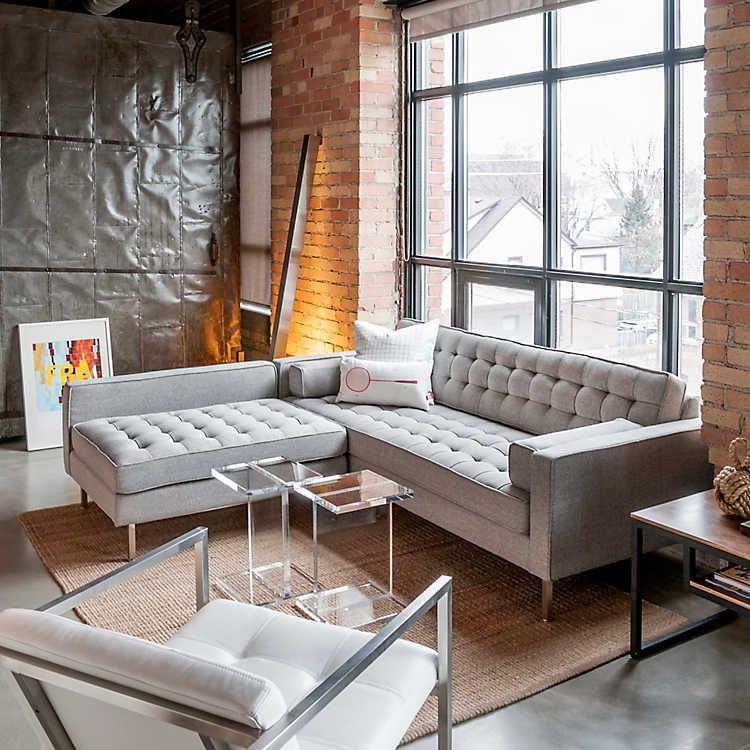 spencer loft bisectional sofa by gus modern smart furniture lofts