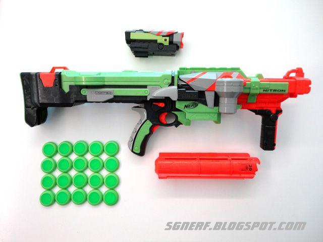 Nerf Vortex disc blasters hands-on