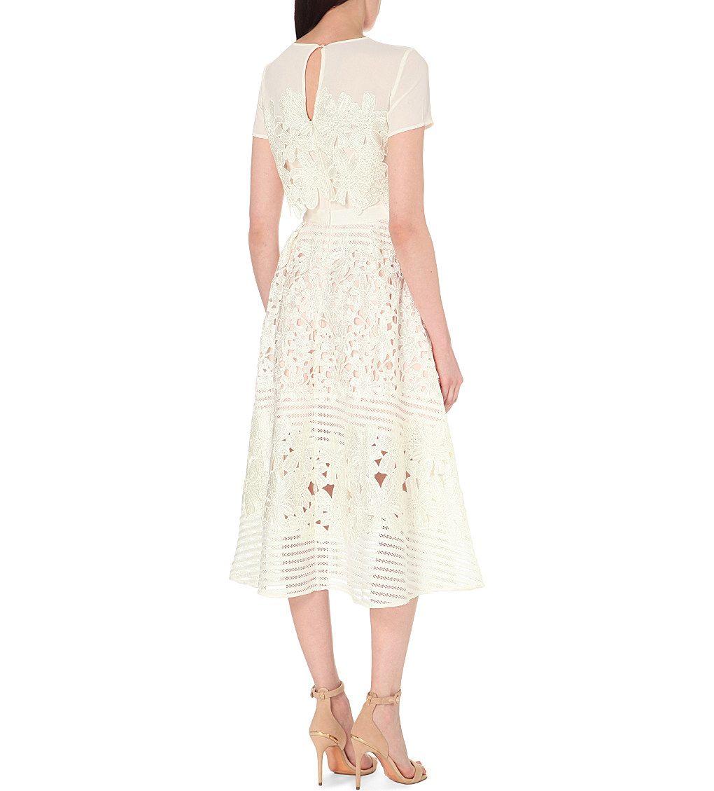 TED BAKER Jeyla lace dress