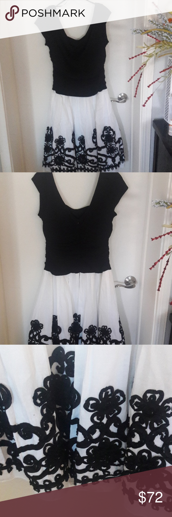 Beautiful White Black Dress Black White Dress Black Dress Black N White Dress [ 1740 x 580 Pixel ]
