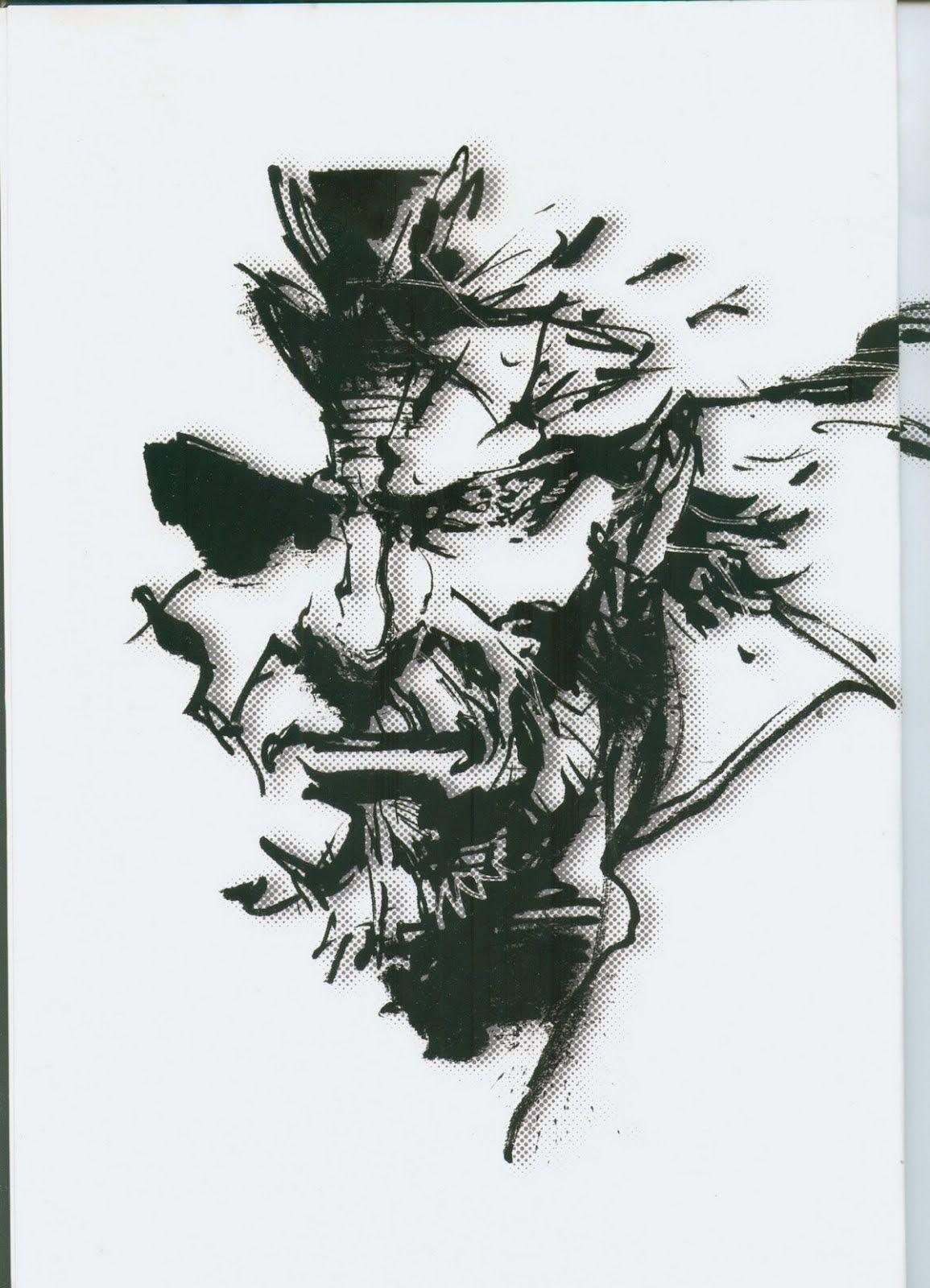Yoji Shinkawa - The Art of Metal Gear Solid: Peace Walker | Madeleine Lilu Emelin