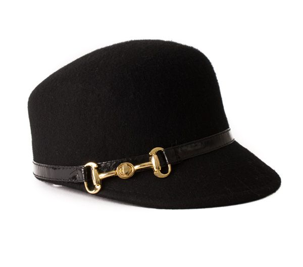 Bad hair day? Too much eggnog? We love this little black hat as a go-to this holiday season.