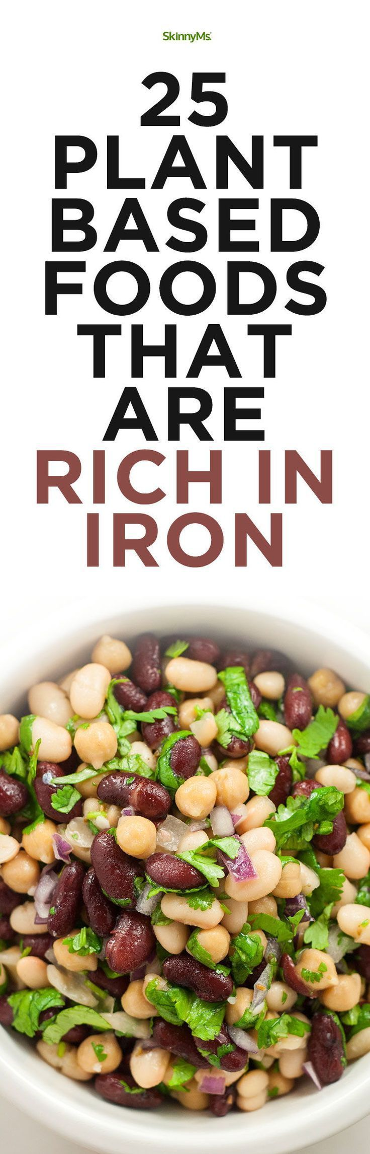 25 PlantBased Foods That Are Rich In Iron Vegan recipes