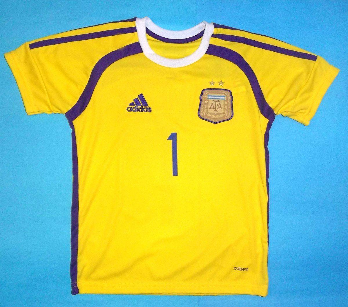 La camiseta de arquero de Argentina de Romero  31541f2d5c396