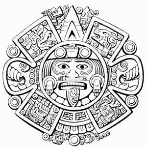bb6f84f6a calendario azteca - Buscar con Google | Buddhist tattoos | Mayan ...