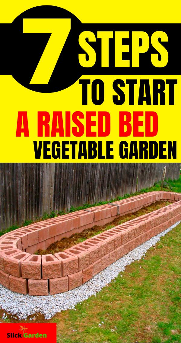 How To Start Raised Bed Vegetable Gardening For Beginners