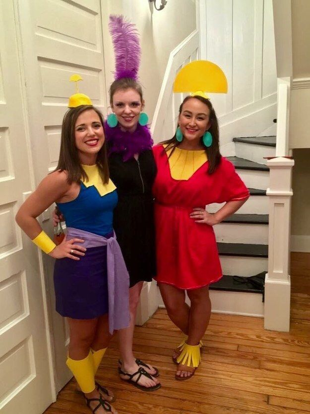 Soccer PinWire: Kuzco Yzma and Kronk from The Emperor's New Groove: in 2018 ... 6 mins ago - Some of our favorite movies from the past 20 years have come out of the animation studio. If you're a true fan you'll want to dress up like your favorite characters...  Source:www.pinterest.com Results By RobinsPost Via Google #halloweencostumes