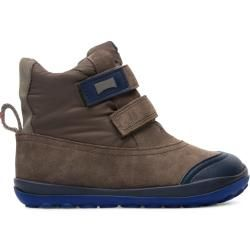 Photo of Camper Peu pista, boots kids, brown gray, size 32 (eu), K900186-002 camper