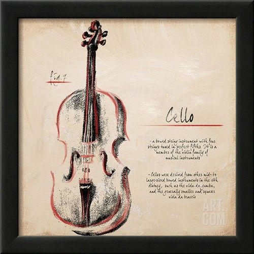JCPenney - Cello Wall Art