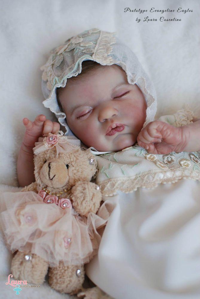 Laura Reborn Dolls *PROTOTYPE EVANGELINE* by Laura Lee Eagles in Dolls & Bears, Dolls, Clothing & Accessories, Artist & Handmade Dolls | eBay
