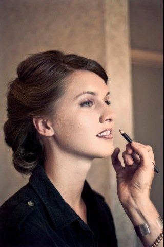 Mary Elizabeth Long~Nashville Make-up Artist   Nashville, Tennessee  Elegant Updo