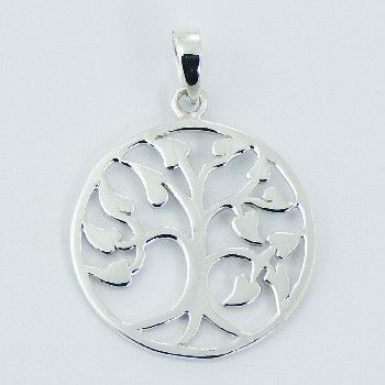 Wholesale sterling silver pendant leafy tree of life great buys wholesale sterling silver pendant leafy tree of life aloadofball Gallery