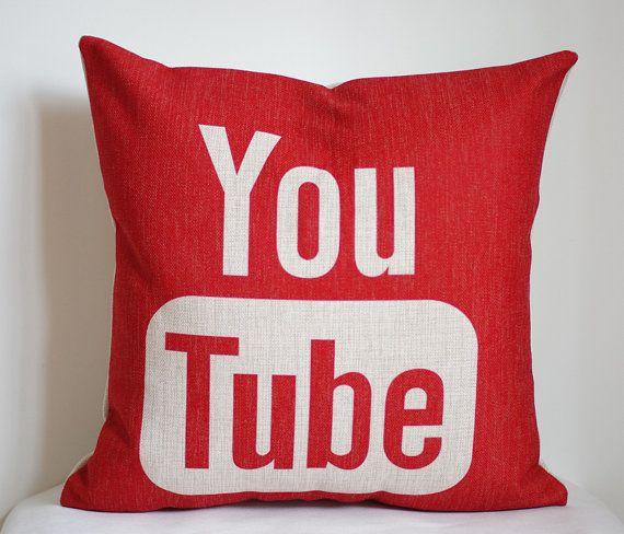 couverture d oreiller Couverture d'oreiller YouTube, Google Youtube taie d'oreiller  couverture d oreiller