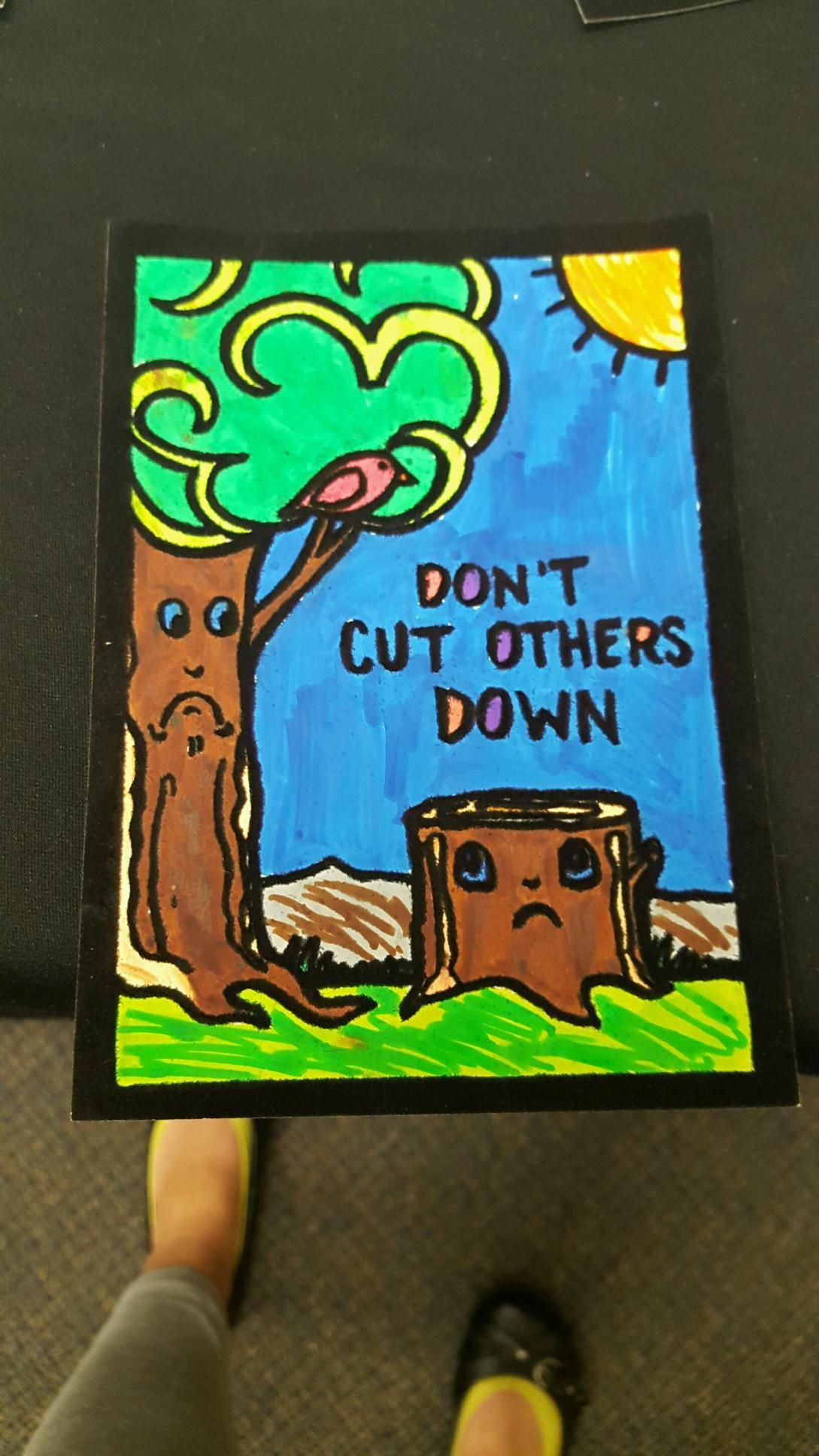 Bully Prevention Coloring Velvet Art Activity from S&S Worldwide ...