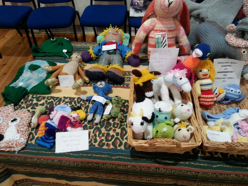 Bramhall M 2015 Knitted and  crochet toys. Karens hamsters sold out