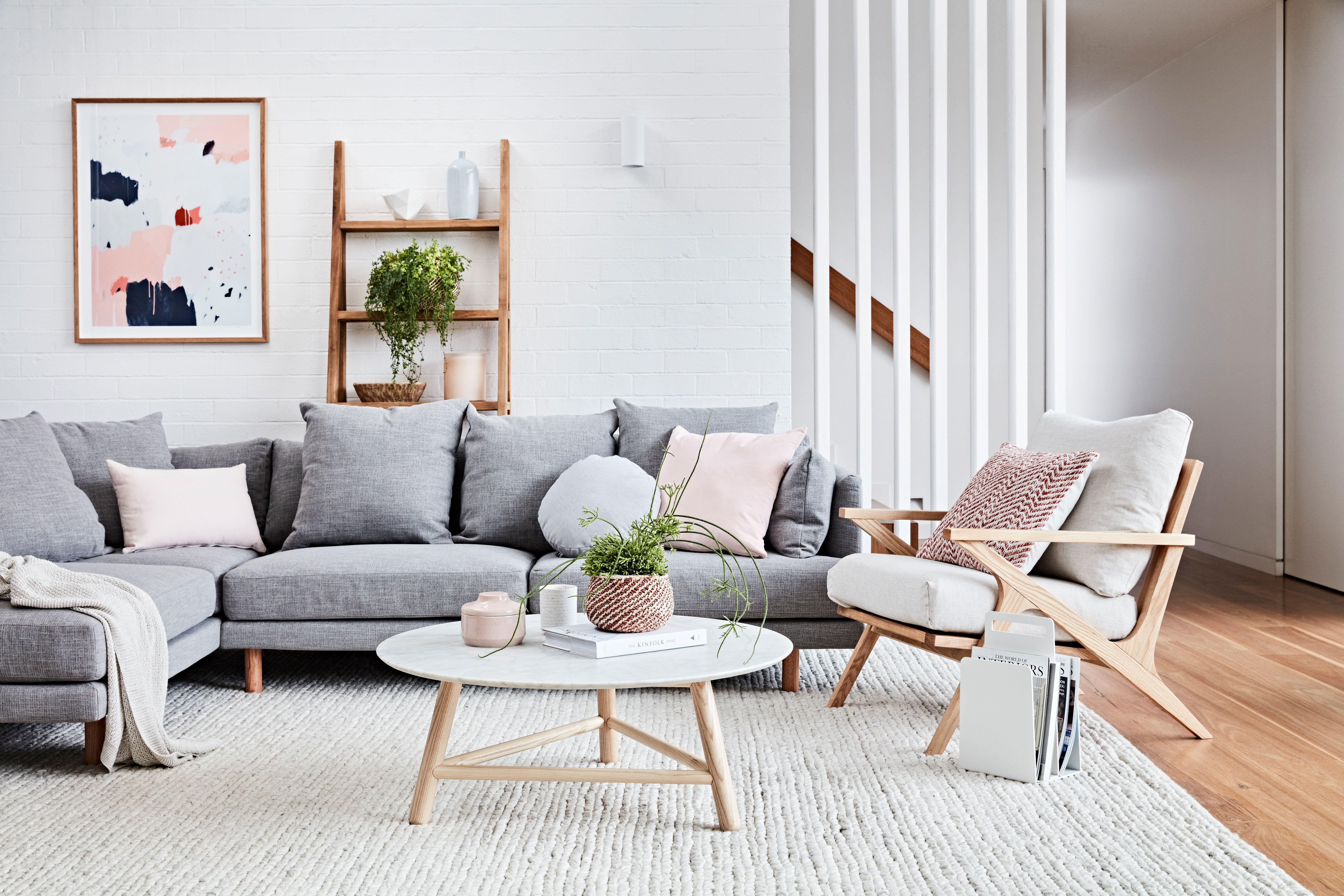Vittoria Iris Modular Sofa In Melbourne Living Room In