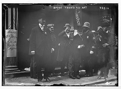 Photo W.J. Bryan policeman and ors New York