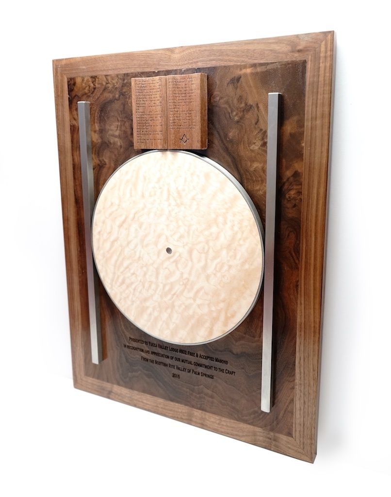 Point Within A Circle Wall Plaque | masonic | Wall plaques