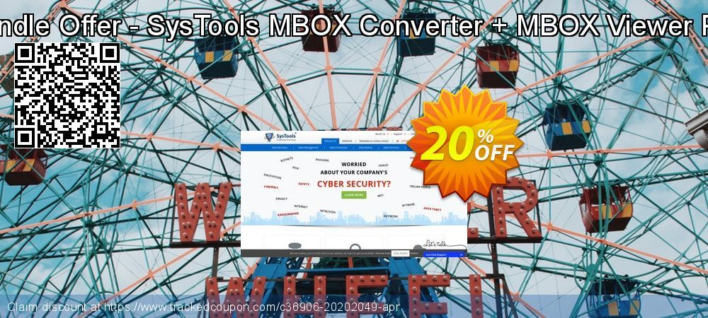 Bundle Offer - SysTools MBOX Converter + MBOX Viewer Pro Coupon 20