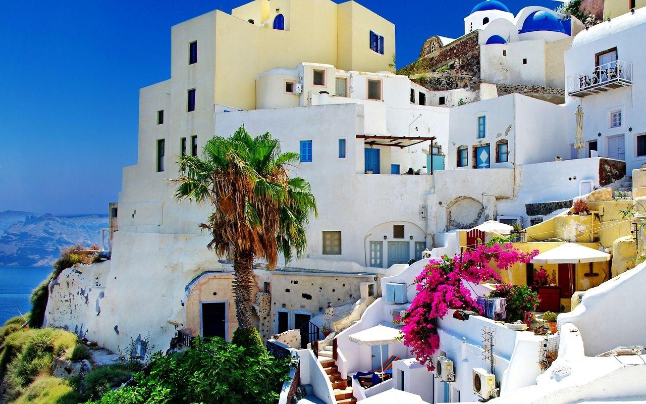 elisudj:  Santorini, bring money, and get lost  favela of dreams,  road