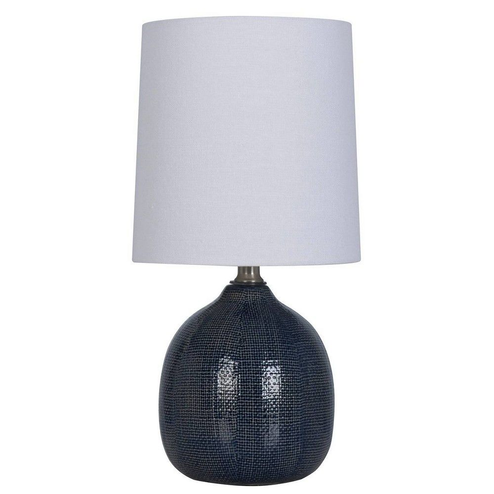 Wendy Ceramic Table Lamp White   Black