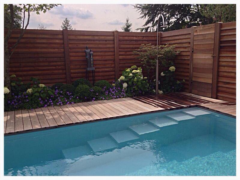 pool treppe salzwasser pool mit salzelektrolyse gartenprojekt pinterest treppe. Black Bedroom Furniture Sets. Home Design Ideas