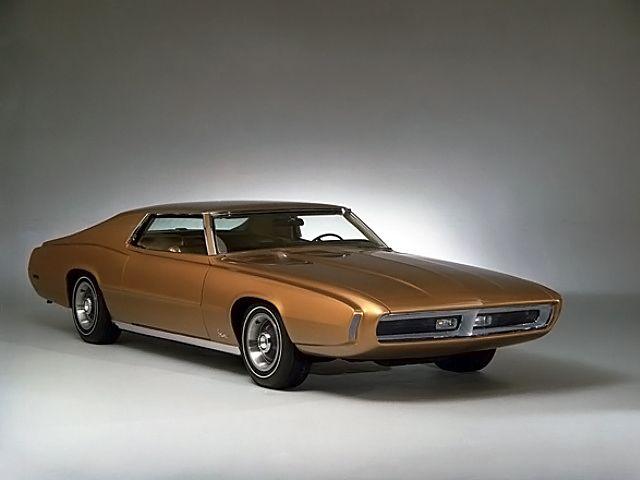 1969 Ford Thunderbird Saturn II Concept Car