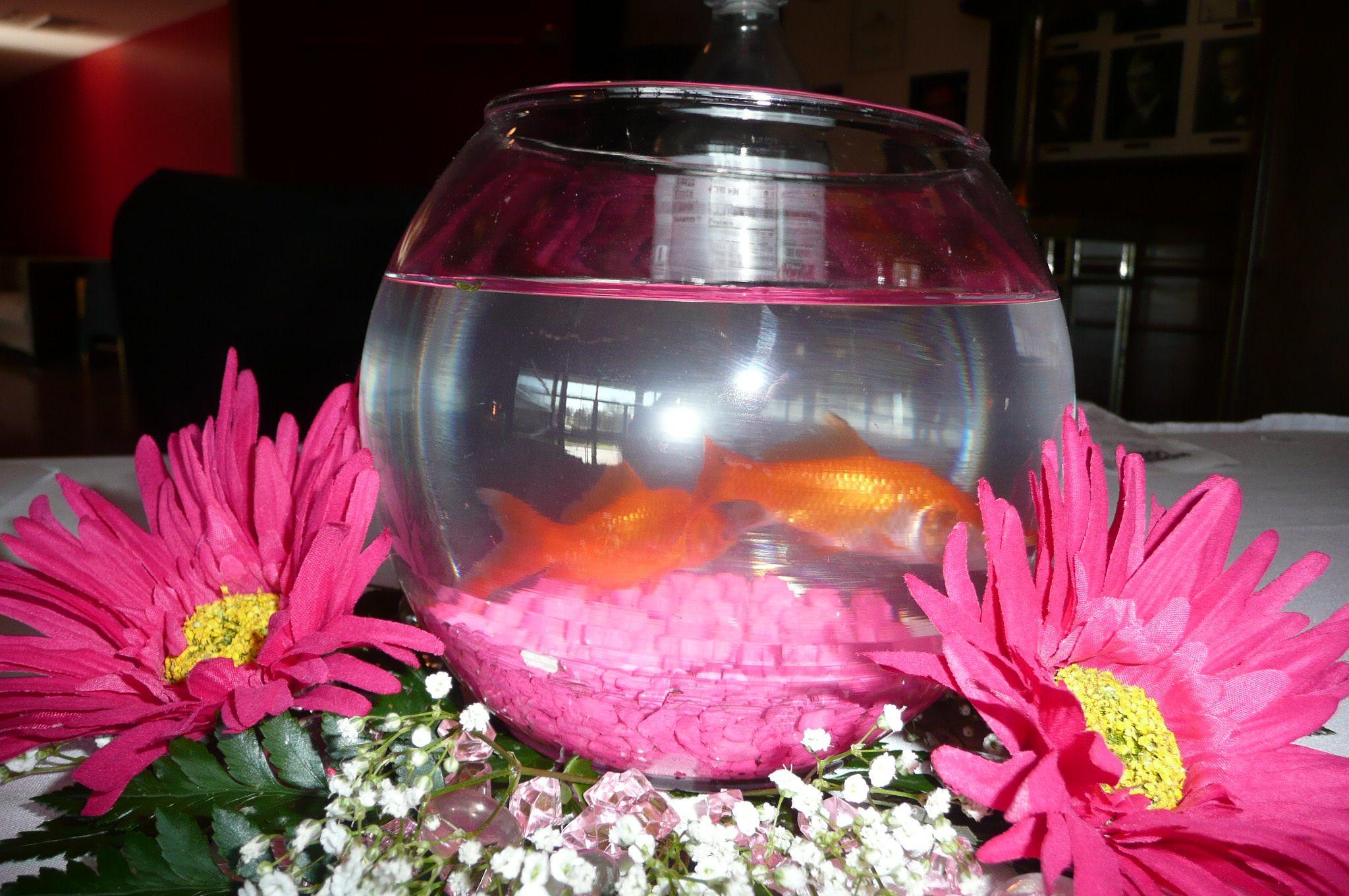 fishbowl centerpiece | Courtney | Pinterest | Fishbowl centerpiece ...
