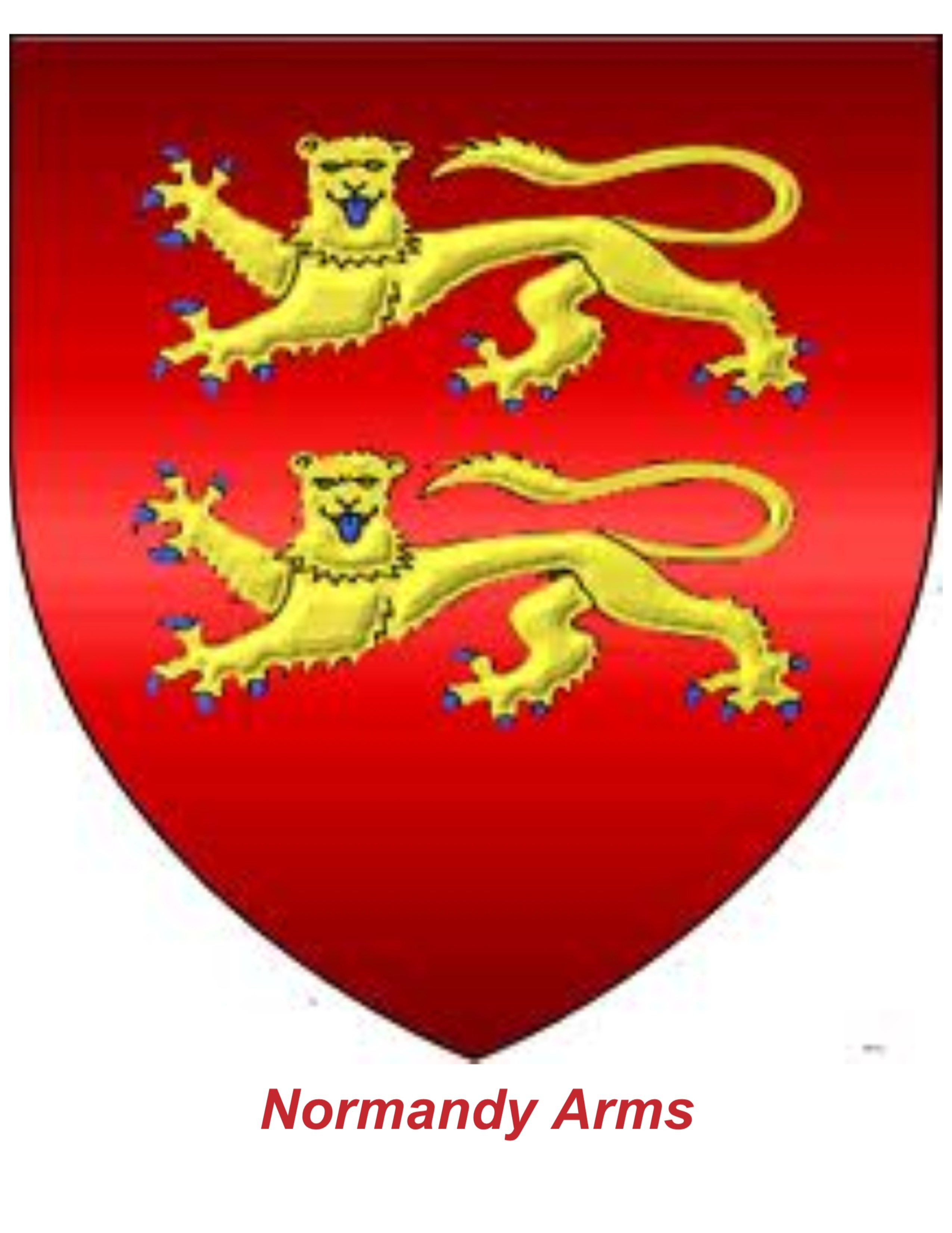 Normandy Arms Genealogy History Time And Tide