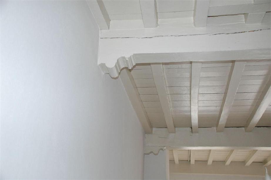 Authentieke balkenplafond in dijkhuis balken plafond