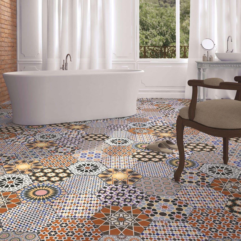 Orientalni Obkladacky Chakib Mozaika Wall And Floor Tiles Tile Floor Porcelain Tile Bathroom Bathroom tiles size 25x25