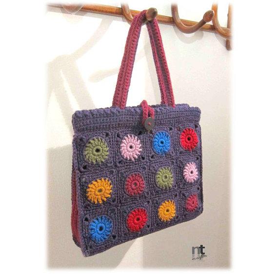 Bright Spot crochet tote pattern instant downloadable .pdf