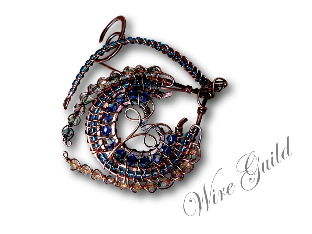 Pin by Wire Guild on Wire Wrapping & Weaving By Wire Guild ...