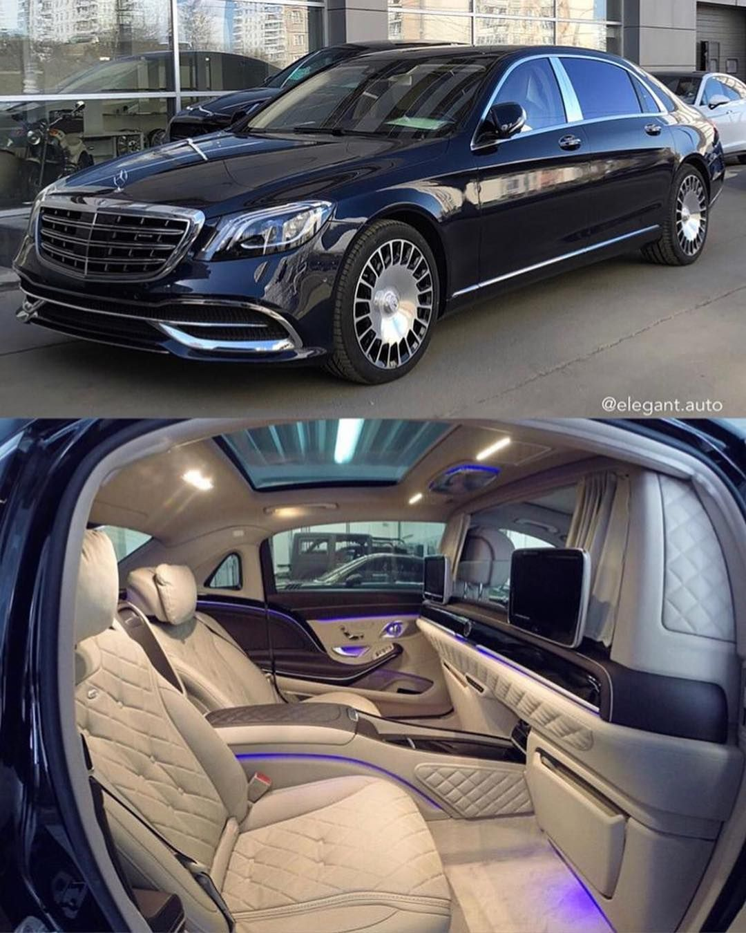 2018 Mercedes Maybach Cool Shot Taking In The Entire Rear Seating Area Including The Optional Partiti Mercedes Maybach Best Luxury Cars Mercedes Benz Maybach