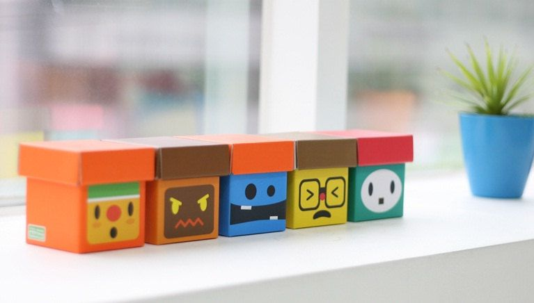 Manemo Desk Storage Boxes
