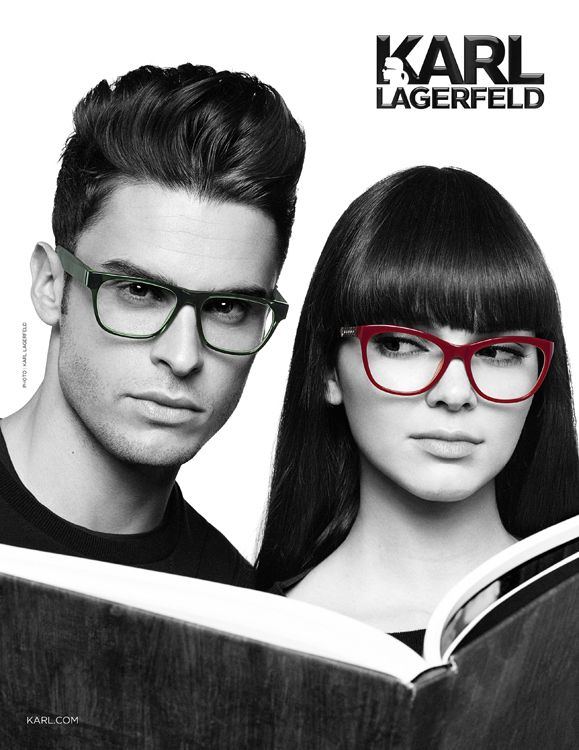Kendall Jenner And Baptiste Giabiconi Modelling In Karl Lagerfeld