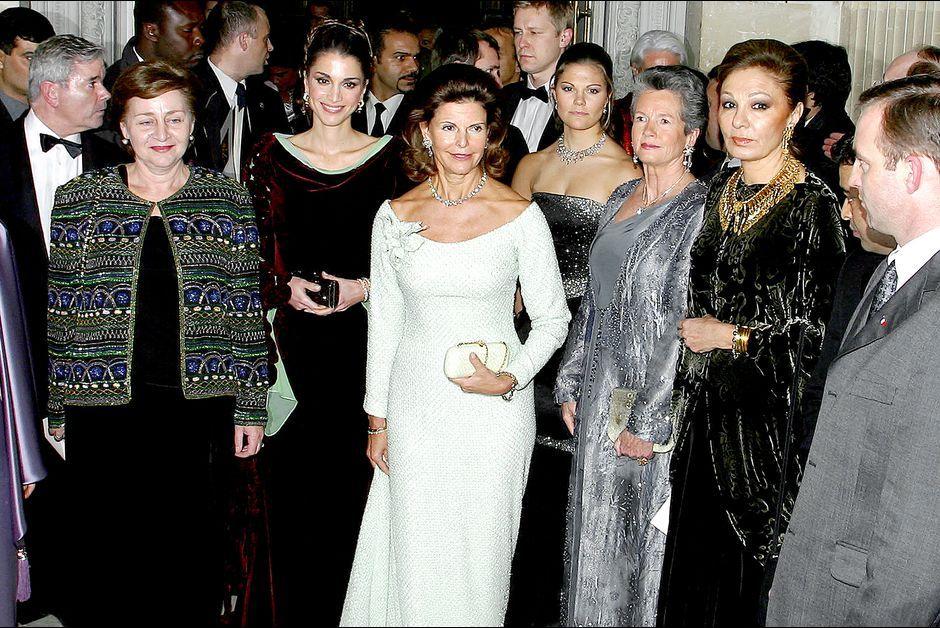 Elizabeth, Grace, Rania... Quand Versailles accueille