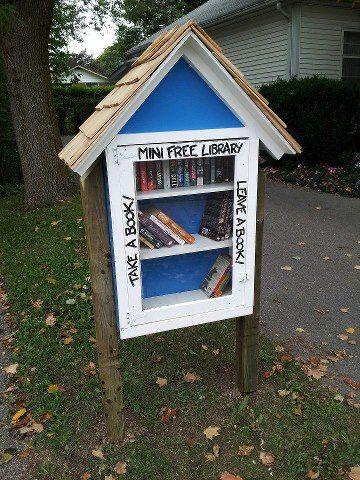 Take a book, leave a book. | Biblioteca gratis, Proyectos ...